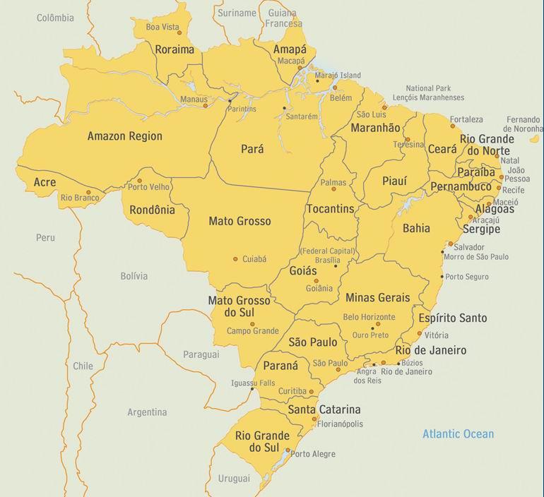 Brasile - Elenco agenzie immobiliari a malta ...